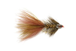 Bild von STREAMER WOOLLY BUGGER GRIZZLY SKULLHEAD