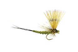 Picture of TROCKENFLIEGE MOHICAN MAYFLY OLIVE BARBLESS