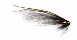Image de TUBE FLIES BLACK & SILVER MONKEY