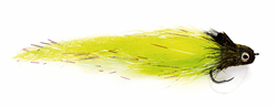 Bild von STREAMER MONSTER DEERHAIR DIVER CHARTRUESE