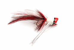 Picture of STREAMER BASS POPPER RED & WHITE