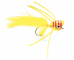Picture of STREAMER BASS POPPER YELLOW & RED