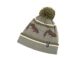 Immagine di SIMMS BIG HOLE POM HAT MÜTZE TIMBER