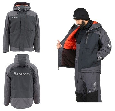 Picture of SIMMS CHALLENGER INSULATED JACKET JACKE BLACK