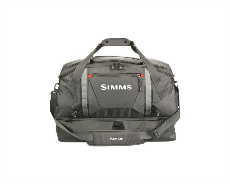 Image de SIMMS ESSENTIAL GEAR BAG REISETASCHE 90L COAL