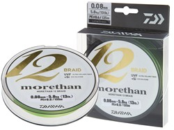Image de DAIWA MORETHAN 12 BRAID 0.08mm