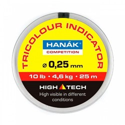 Bild von HANAK TRICOLOR INDICATOR - 0.20mm BLACK-ORANGE-YELLOW