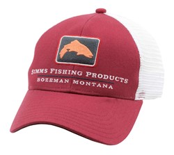 Image de SIMMS TROUT ICON TRUCKER RUSTY RED