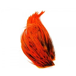 Immagine di WHITING BUGGER PACK BADGER DYED ORANGE