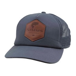 Image de SIMMS LEATHER PATCH TRUCKER ADMIRAL BLUE