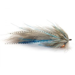 Image de STREAMER TROUT INTRUDER GREY
