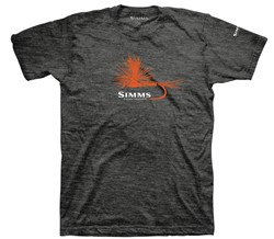 Immagine di SIMMS ADAMS FLY T-SHIRT CHAROCAL HEATHER
