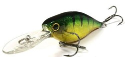 Bild von LUCKY CRAFT US SHAD 65 F AURORA GREEN PERCH