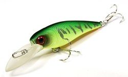 Image de LUCKY CRAFT BEVY SHAD 50 SP JAPAN MAT TIGER