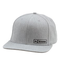 Bild von SIMMS TROUT LOGO LOCKUP CAP HEATHER GREY