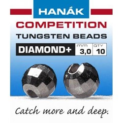 Bild von HANAK TUNGSTEN BEADS DIAMOND + BLACK NICKEL