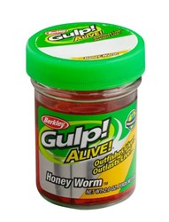 Bild von BERKLEY GULP! ALIVE! HONEY WORM HOT YELLOW