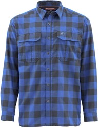 Bild von SIMMS COLDWEATHER HEMD RICH BLUE BUFFALO PLAID