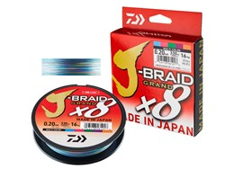 Bild von DAIWA J-BRAID GRAND X8 MULTICOLOR