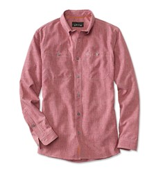 Image de ORVIS TECH CHAMBRAY WORK SHIRT RED