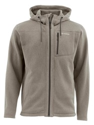 Picture of SIMMS RIVERSHED FULL ZIP HOODY BARK