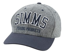 Picture of SIMMS WOOL VARSITY CAP CHARCOAL