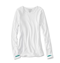 Image de ORVIS OUTSMART TECH TEE WHITE WOMAN